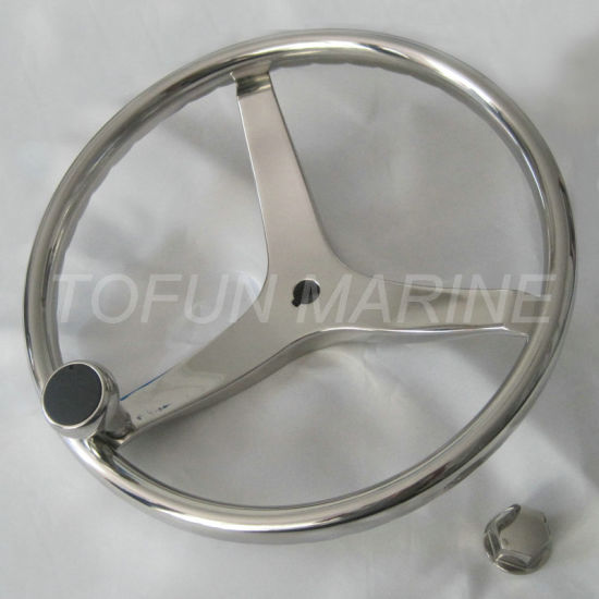 China Aisi 304316 Stainless Steel Casting Steering Wheel Tfsw0501