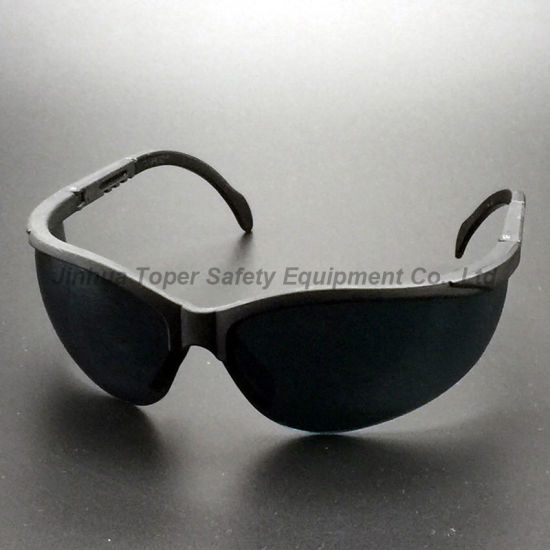 UV Protection Lens Adjustable Legs Safety Glasses (SG107) pictures & photos