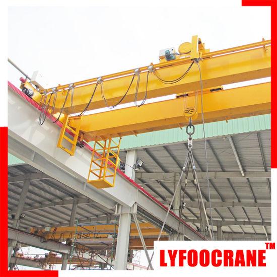 Top Designed Double Girder Overhead Crane, Wire Rope Hoist Crane