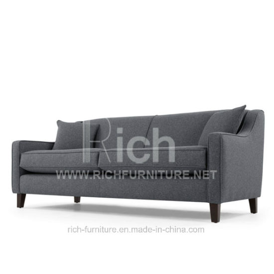 Living Room Simple Design Fabric Sofa (3Seater)