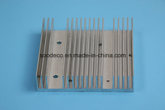 Aluminum Profile Heat Sink with CNC Machining pictures & photos