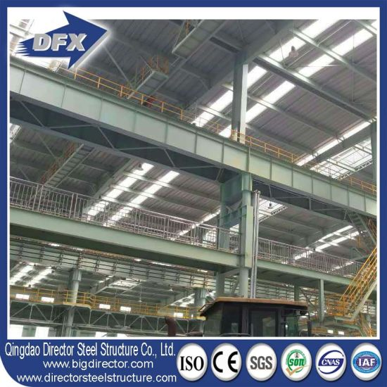 Dfx Prefab Heavy Duty Steel Warehouse Made in China pictures & photos