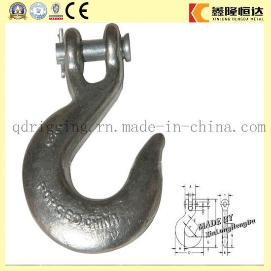 G80 Self Colored Safety Latch Clevis Slip Hook _Hardware Rigging pictures & photos