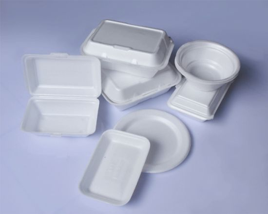 Full Automatic PS Foam Lunch Box/Take Away Food Container Making Machine