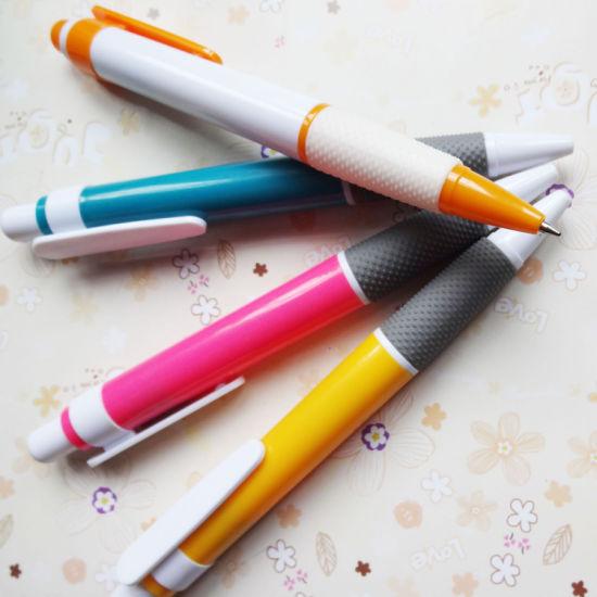 Multi Color Cheap Promotional Plastic Ball Pen Advertising Ball Pen