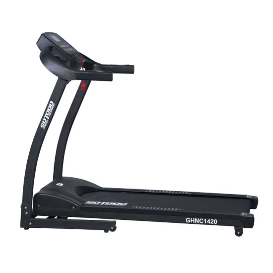 Best LCD Display Electronic Treadmill Folding Equipment with 15% Incline