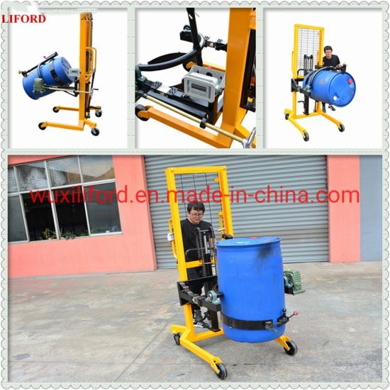 Weighing Scale Foot Pedal Hydraulic Drum Rotator Drum Lifter Da450-1