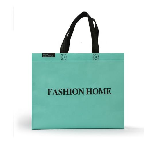 Wholesale Cheap Recycle in Stock Fashion Printing PP Non Woven Tote Shopping Bag