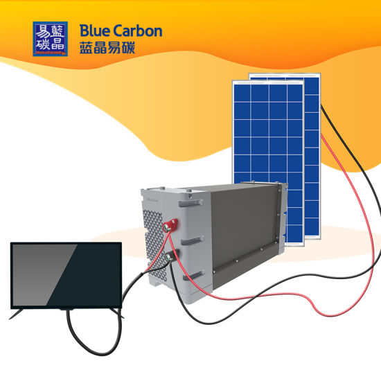 Rechargeable 12V, 24V, 48V Solar Home System with LiFePO4 Battery