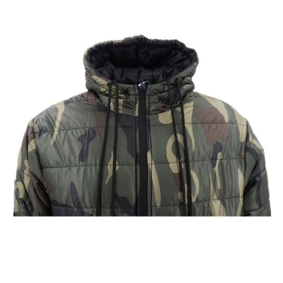 New Mens Winter Puffer Quilted Jacket Heavy Weight Warm Padded Outwear Bomber