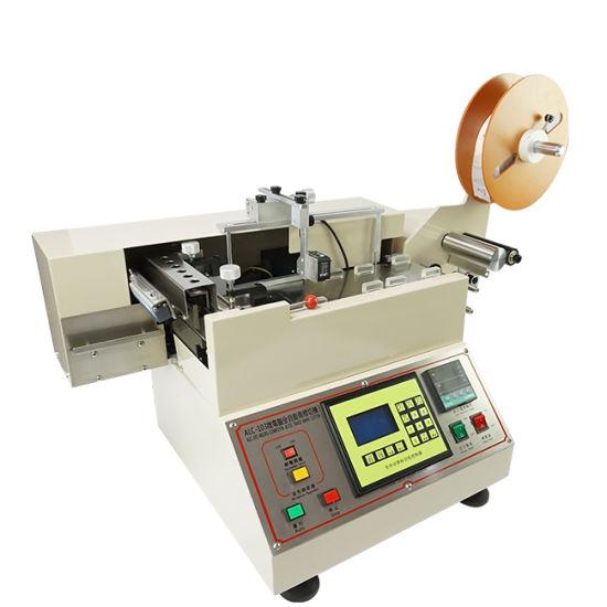 Wl-103 Automatic Hot and Cold Printing Label Cutter Cutting Machine Non Woven Cutting Machine