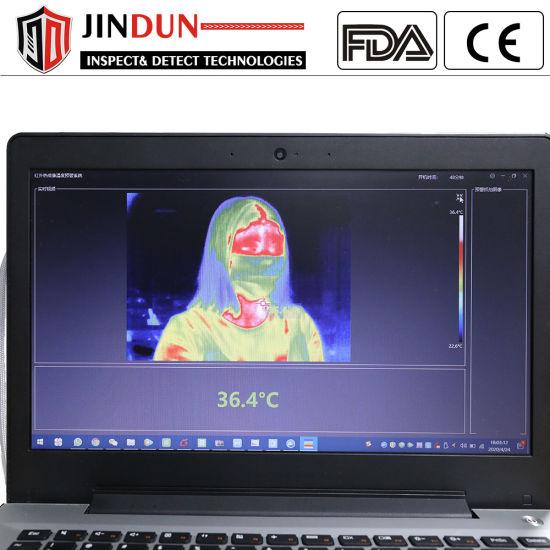 Office High Precision Digital Screen Body Temperature Thermal Imaging Camera