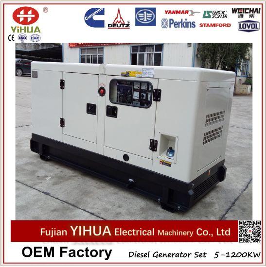20kVA/16kw Japan Yanmar with Stamford Silent Diesel Generator Set