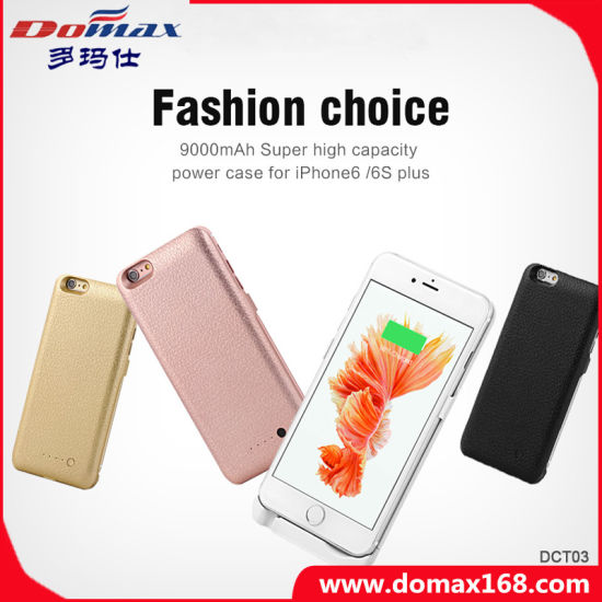 [Hot Item] Mobile Phone Wireless Charger Battery Case Power Bank for iPhone 6s Plus