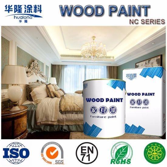 Hualong Soft Matt Nc White Varnish Paint