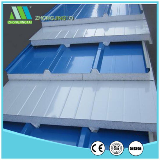 China Metal Material EPS/Expanded Polystyrene Sandwich Panel