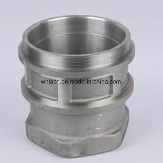 Lost Wax Casting Investment Casting CNC Machining Pipe Quick Coupling Adapter