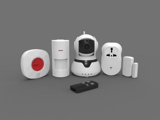 Wireless HD IP Camera Alarm with 64 Wireless Zones