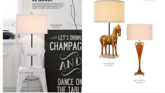 China Handmade Resin Decorative Table Lamp China Crystal Lamp Modern Table Lamp
