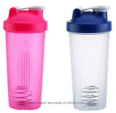 600ml Plastic Protein Shaker Bottle pictures & photos