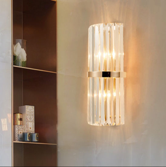Crystal Sconce Wall Lamp Light