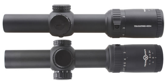 Vector Optics Thanator 1-8X Scope 1-8X24 Riflescope with Red Illuminated Vtc Mil Retile 1/10 Mil Cqb Compact pictures & photos