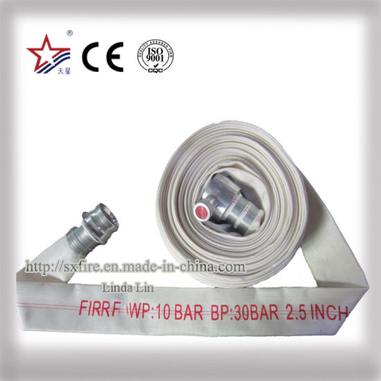 PVC Fire Hose with Storz Coupling