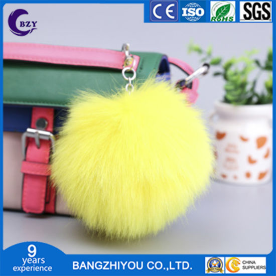 Exquisite Solid Color Plush Ball Clothing Bag Pendant Fur Ball Pompom Ball Custom Hair Ball pictures & photos