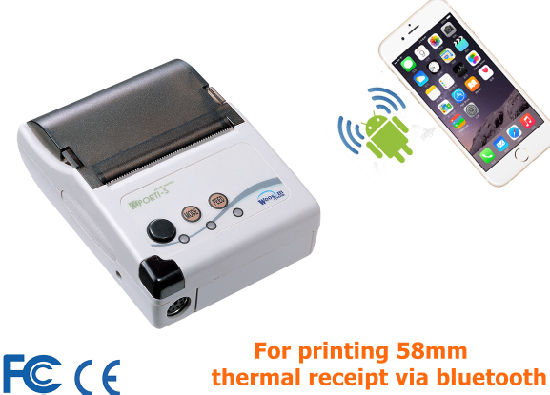 Porti-S30/40 Handheld Bluetooth, USB Taxi Receipt Print Printer for Android, Linux, Windows, Blackberry Driver pictures & photos