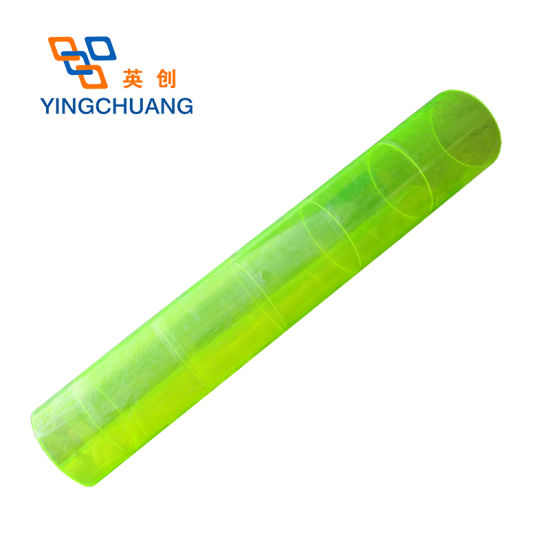 High Quality Plastic Material Round Acrylic Tube Clear Packing Tube