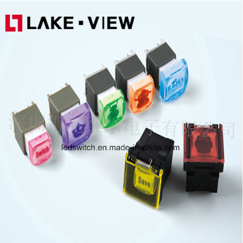 PLC Illuminated Pushbutton Switch with Tactile or Non-Tactile Feel, Perfectly Poise pictures & photos