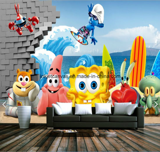 China 3d Cartoon Wallpaper China Inkjet Printing Wallpaper