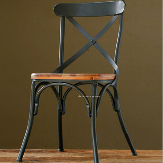Resaturant Cafe Iron Chair for Home Furniture pictures & photos