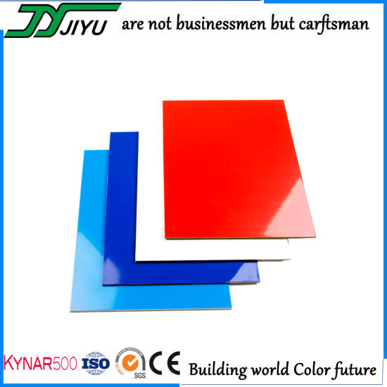 4mm PVDF Coated Aluminum Composite Panel Decoration Material for Building