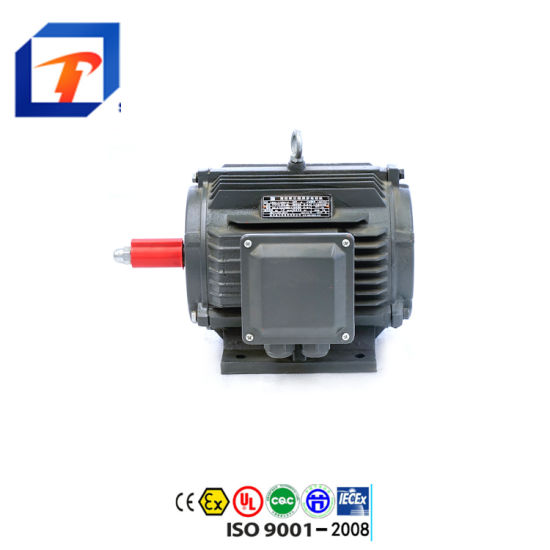 Ce Approved 0.12kw-315kw Ye2 Series Three Phase Asynchronous Electric Motor AC Motor Induction Motor for Water Pump, Air Compressor, Gear Reducer Fan Blower
