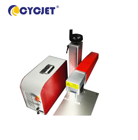 Cycjet Lf30 Portable Laser Marking Machine for Date Marking pictures & photos