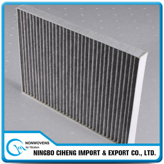 Auto Filter Material Composited Nonwoven Melt-Blown Activated Carbon Clothing