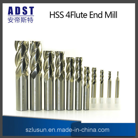 M2ai 4flute End Mill Cutting Tool for CNC Machine pictures & photos