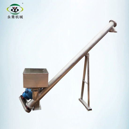 Automatic Spiral Feeding System Pellet Auger Screw Feeder