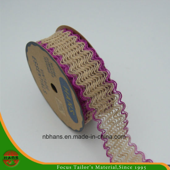 Hans China Supplier Various Color Jute Tape for Gift Packing