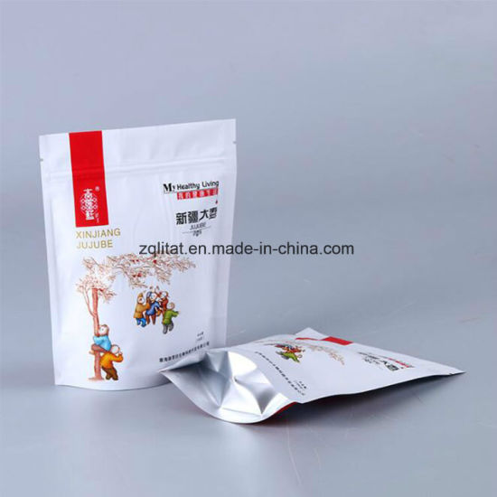 Customized Printed Aluminum Foil Stand up Bag pictures & photos
