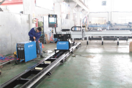 Low Cost 2300mm Width CNC Gantry Type Plasma Flame Cutting Machine pictures & photos