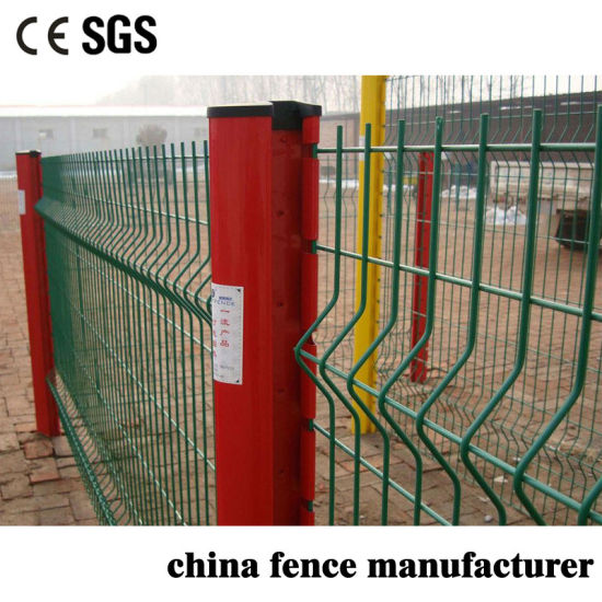 Anti Climb Anti Cut Welded Low Carbon Wire Peach Post Wire Mesh Fencing for Farm