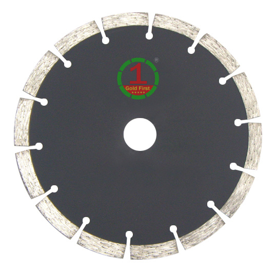 China Factory Export Segment Diamond Saw Blade for Dry Cutting Granite, Stone, Marble, Concrete