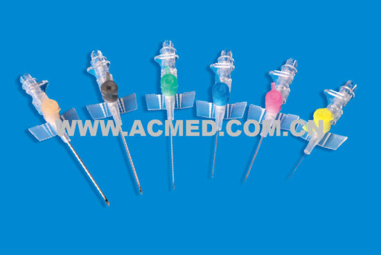 IV Catheter, Pen-Like, with Wing, Injection Port pictures & photos