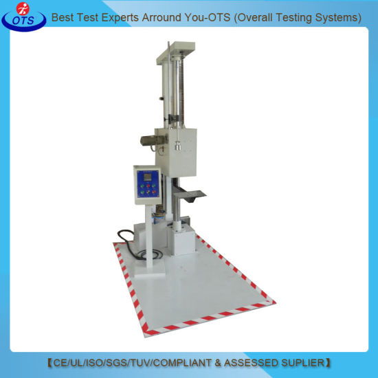 Electronic Computerized LCD Touch Screen Packaging Drop Testing Machine