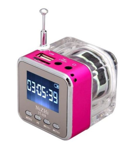 Nizhi Tt- 028 Bluetooth Speaker with LCD Screen FM Radio with Atenna pictures & photos