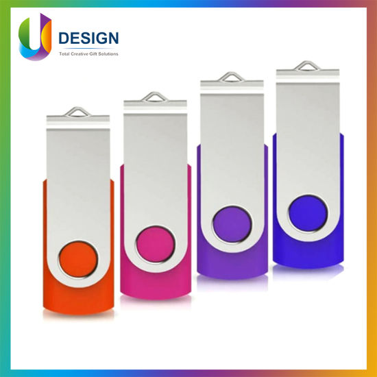 Multi Color Promotional Gift USB Flash Drive with CE FCC RoHS Approval