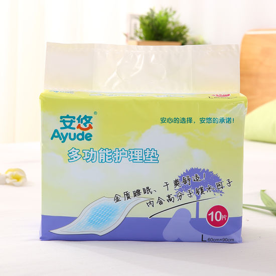 Absorbent Medical Disposable Underpad Nursing Pad pictures & photos