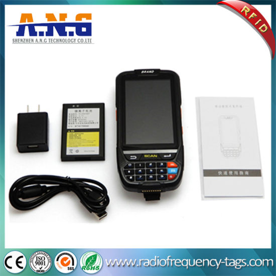 China Android 5 1 Handheld POS Terminal Barcode Scanner with
